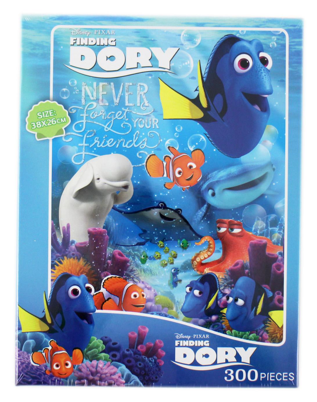 卡漫城Dory盒裝拼圖300片版多莉尼莫Nemo海底總動員台灣製禮盒兒童益智禮物遊戲