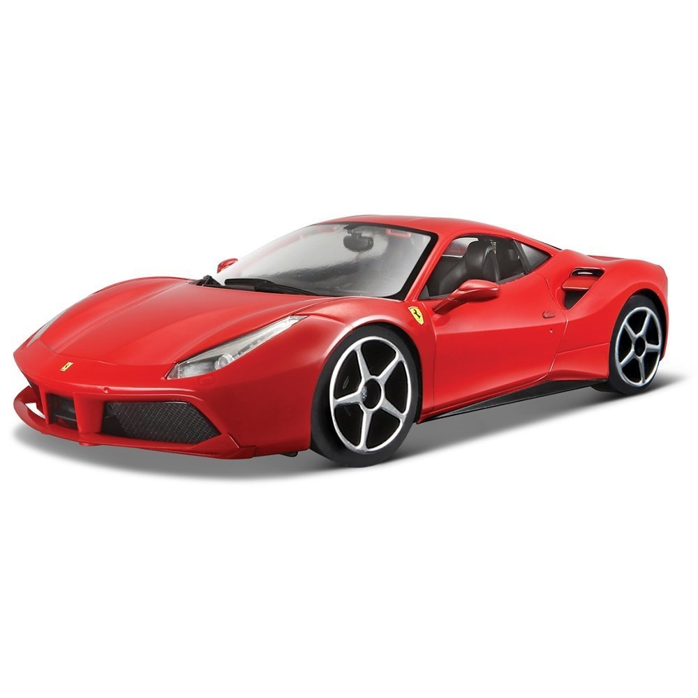 限時68折Bburago 1 24法拉利-488 GTB跑車模型車JOYBUS玩具百貨