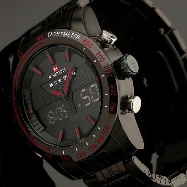 運動手錶精工雙顯機芯特種軍表戶外運動潮咖地帶