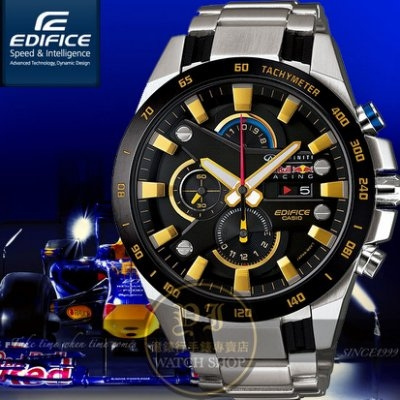 CASIO日本卡西歐EDIFICE紅牛聯名賽車限量腕錶48mm EFR-540RB-1A公司貨禮物聖誕節