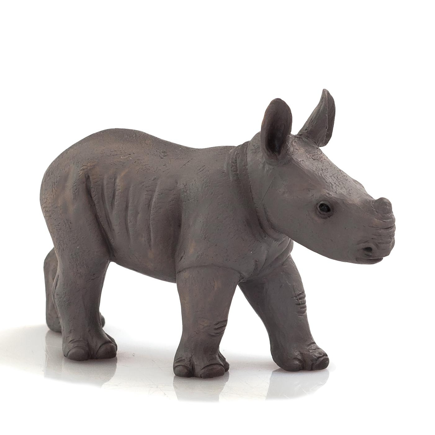 MOJO FUN動物模型動物星球頻道獨家授權-小犀牛走姿