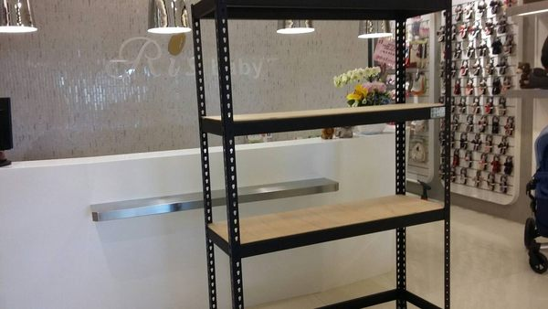 高雄免螺絲角鋼訂製專區角鐵檔案架書架置物架物料架層架收納櫃倉儲架陳列架