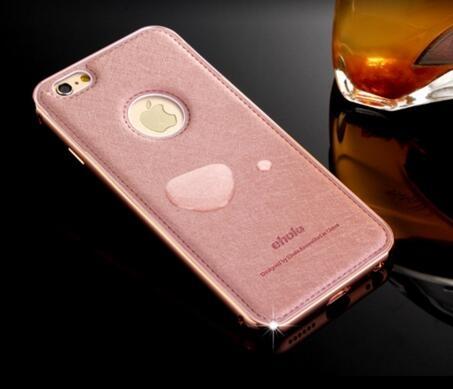 現貨頻果iphone i6 plus 6s金屬邊框蠶絲紋奢華保護殼手機殼保護殼防摔硬殼