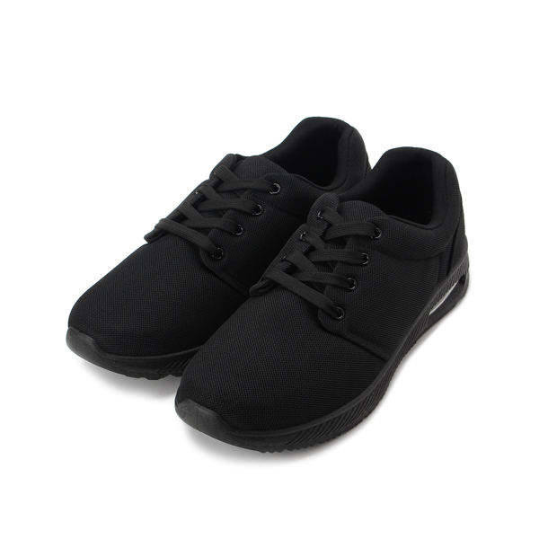 SARTORI 素色休閒布鞋 黑 男鞋 鞋全家福