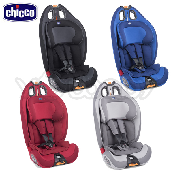 Chicco Gro-Up 123 成長型安全汽座 -四色