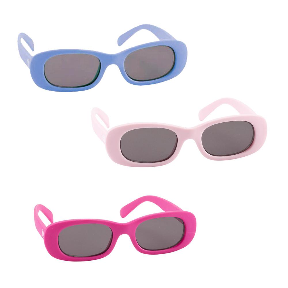 抗UV太陽眼鏡美國Elegant Baby抗UV細長鏡框太陽眼鏡