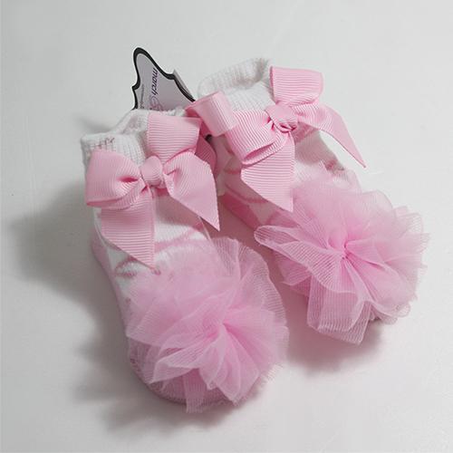 美國Mud Pie造型嬰兒襪童襪雪紡襪-芭蕾舞者款