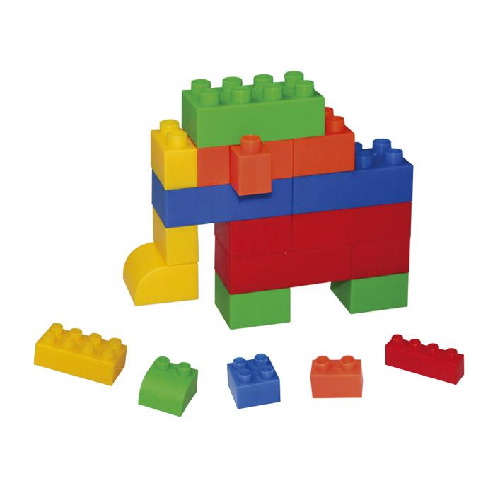 【華森葳兒童教玩具】建構積木系列-小顆粒積木 E10-B25