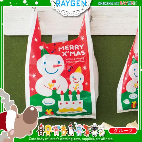 烘焙餅乾聖誕大小雪人糖果手提袋 餅乾袋 包裝袋 單售