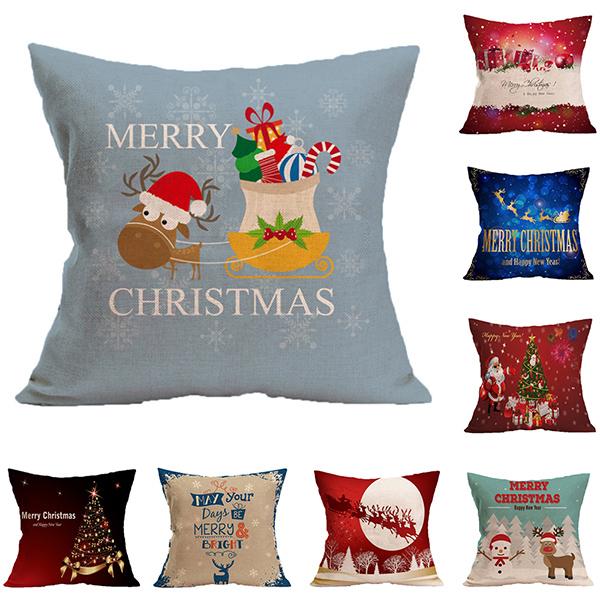 BELLE VIE 狂歡聖誕派對 抱枕/靠枕 (45×45cm) 佳節限定