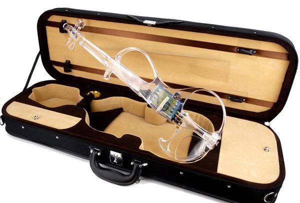 ★集樂城樂器★JYC SV-500水晶靜音提琴(藍光/自動換色)~首賣限量登場!!預購中~