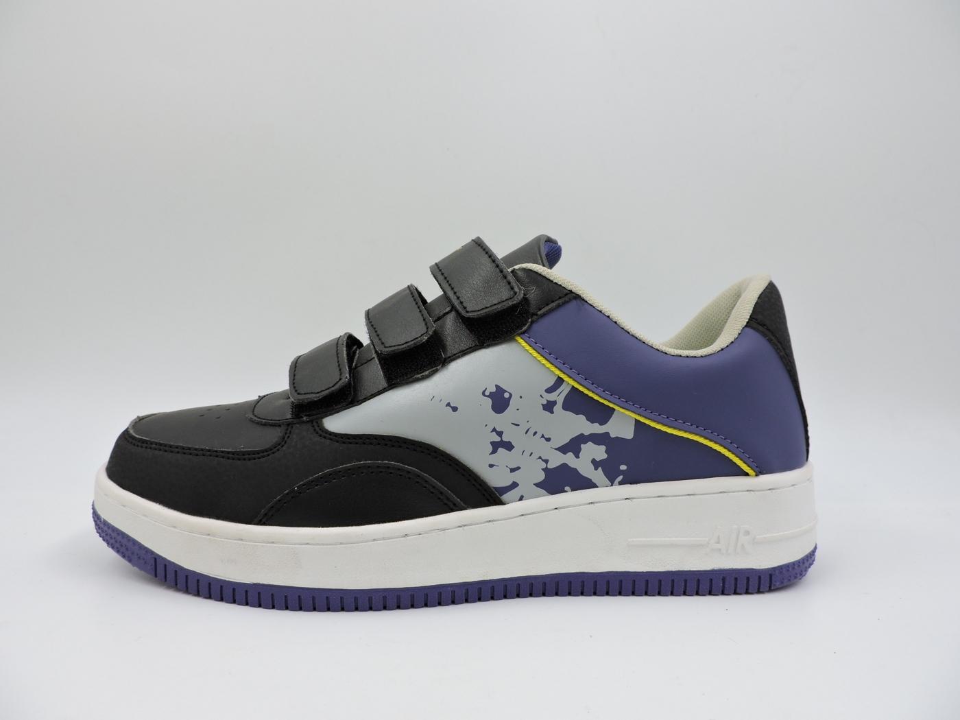 安全工作不生鏽鋼頭防穿刺鋼板鞋橡膠底2013黑紫