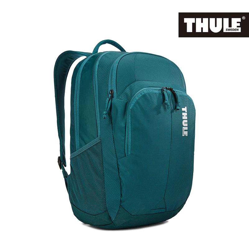 THULE-Campus 28L電腦後背包TCAM-4116-深藍綠