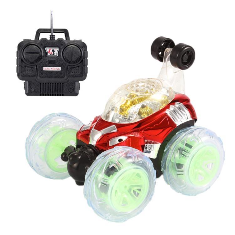 翻滾特技車翻斗車遙控車越野遙控汽車模充電動賽車兒童玩具車男孩