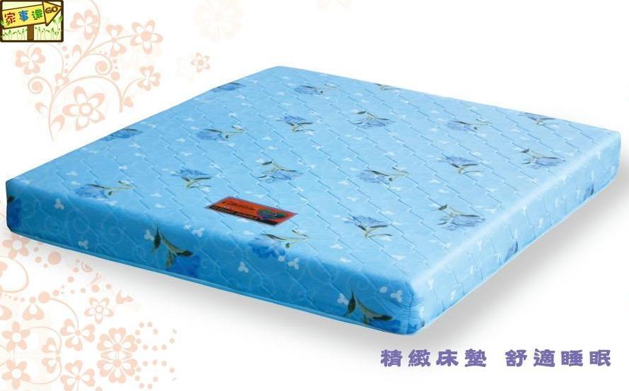 家事達DF-B390-6 TC床墊-3.5尺彈簧床特價限送中部