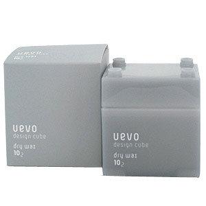 ●魅力十足● 大容量 日本UEVO卵殼膜彩色造型灰積木髮蠟DEMI提美