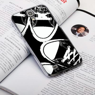 機殼喵喵三星Samsung i9500 Galaxy S4手機殼客製化照片外殼全彩工藝SZ065