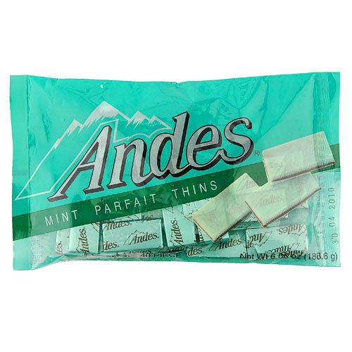 安迪士Andes巧克力薄片-雙薄荷口味165g愛買