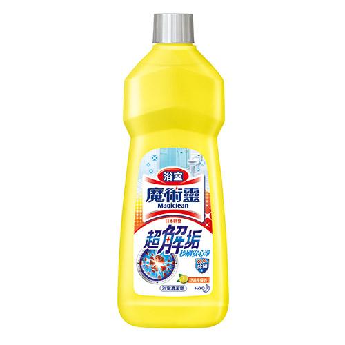 魔術靈浴室清潔劑舒適檸檬經濟瓶500ML花王旗艦館