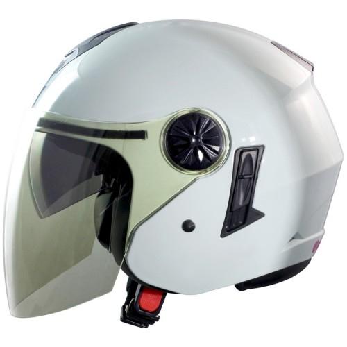 東門城GP5 GP5-233素色白3 4罩安全帽