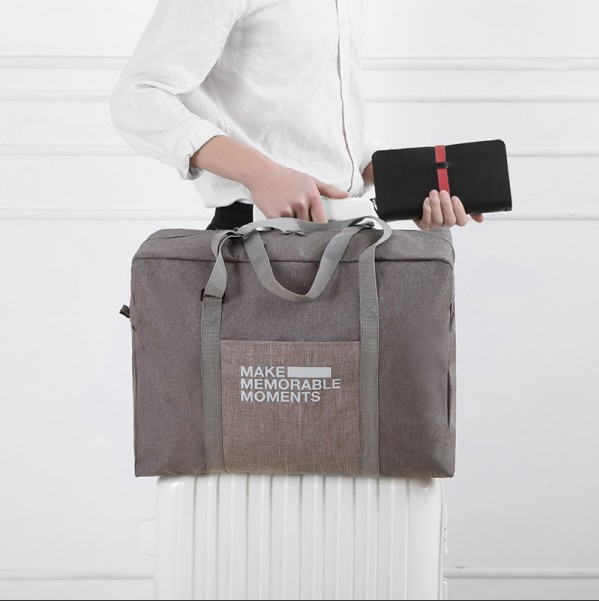 NF側背包可折疊兩用手提包行李箱旅行袋登機箱拉桿包休閒包帆布手提袋