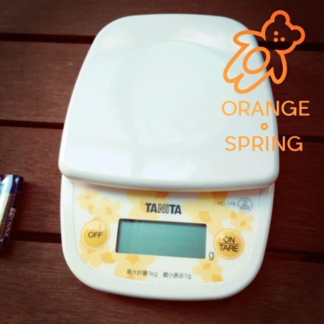 現貨免運TANITA KD-192 0.1g 2kg超薄輕巧料理秤電子秤*HAIR魔髮師
