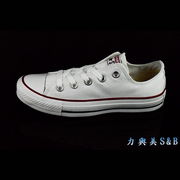 all star經典帆布鞋低筒白色199