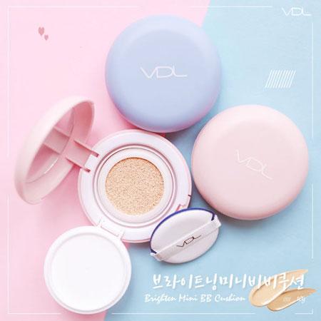 韓國VDL PANTONE迷你馬卡龍BB氣墊粉餅10g氣墊粉餅底妝馬卡龍氣墊粉餅