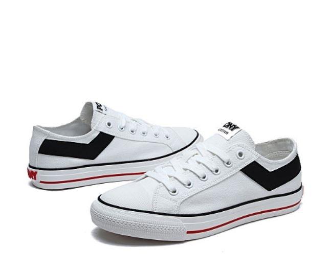 PONY Shooter白黑女款休閒帆布鞋-NO.91W1SH02RW