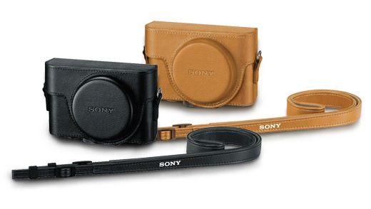 SONY RX100系列專屬皮套黑咖啡LCJ-RXF適用於DSC-RX100 RX100II RX100III RX100M2 RX100M3