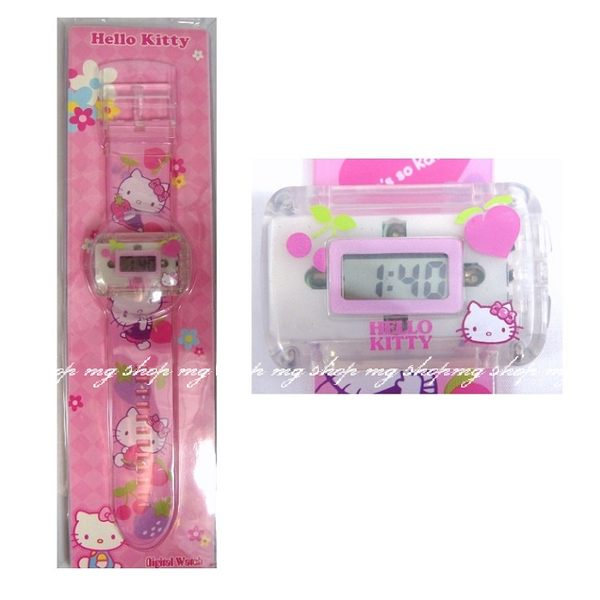 HELLO KITTY Wacth卡通電子手錶原裝正版
