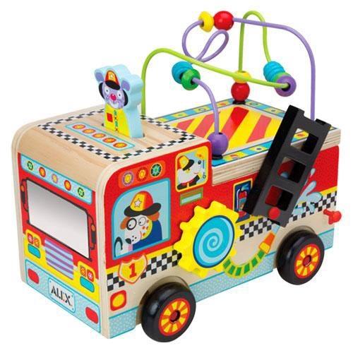 奇買親子購物網美國ALEX忙碌消防車
