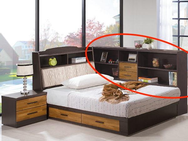 8號店鋪森寶藝品傢俱a-10品味生活臥室系列121-3賽德克積層木雙色7尺床邊櫃