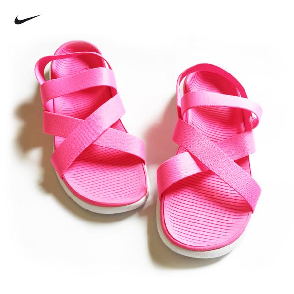 特價NIKE ROSHE ONE SANDAL涼鞋830584-681粉色踩腳女鞋