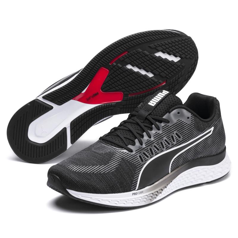 Puma Speed 男女 黑 運動鞋 慢跑鞋 緩衝 輕盈 彈性 運動 健身 休閒鞋 19251301