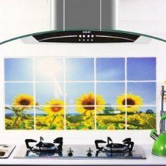 鋁箔廚房防水防油壁貼 牆貼 (向日葵)-艾發現