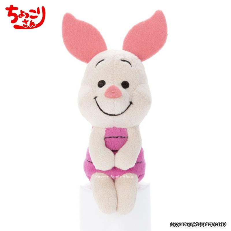 日本人氣話題日本限定迪士尼小熊維尼家族粉紅小豬趣味寫真小玩偶