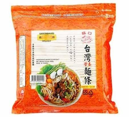 龍口台灣營養麵條1.8kg愛買