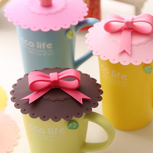 ✿99免運✿馬卡龍立體矽膠冷飲杯蓋 咖啡杯 水杯 茶杯 杯子 可用 三款可選 里和家居 Riho