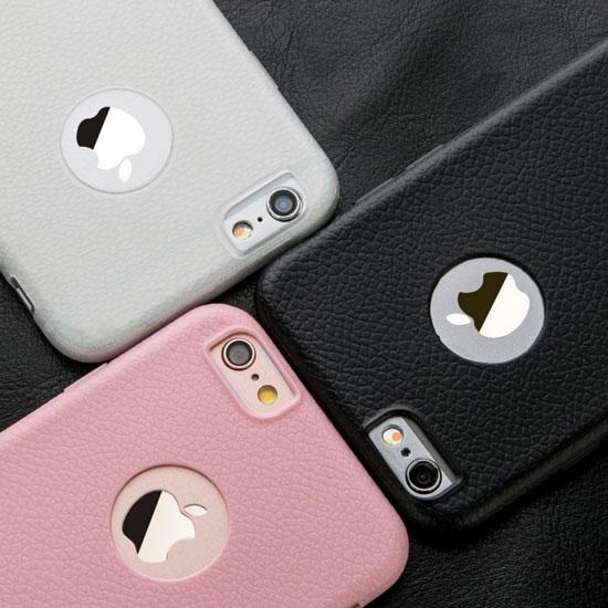 0.7mm Apple iPhone 6 6S 4.7吋觸感皮革保護殼防護軟殼手機背蓋手機殼外殼TPU