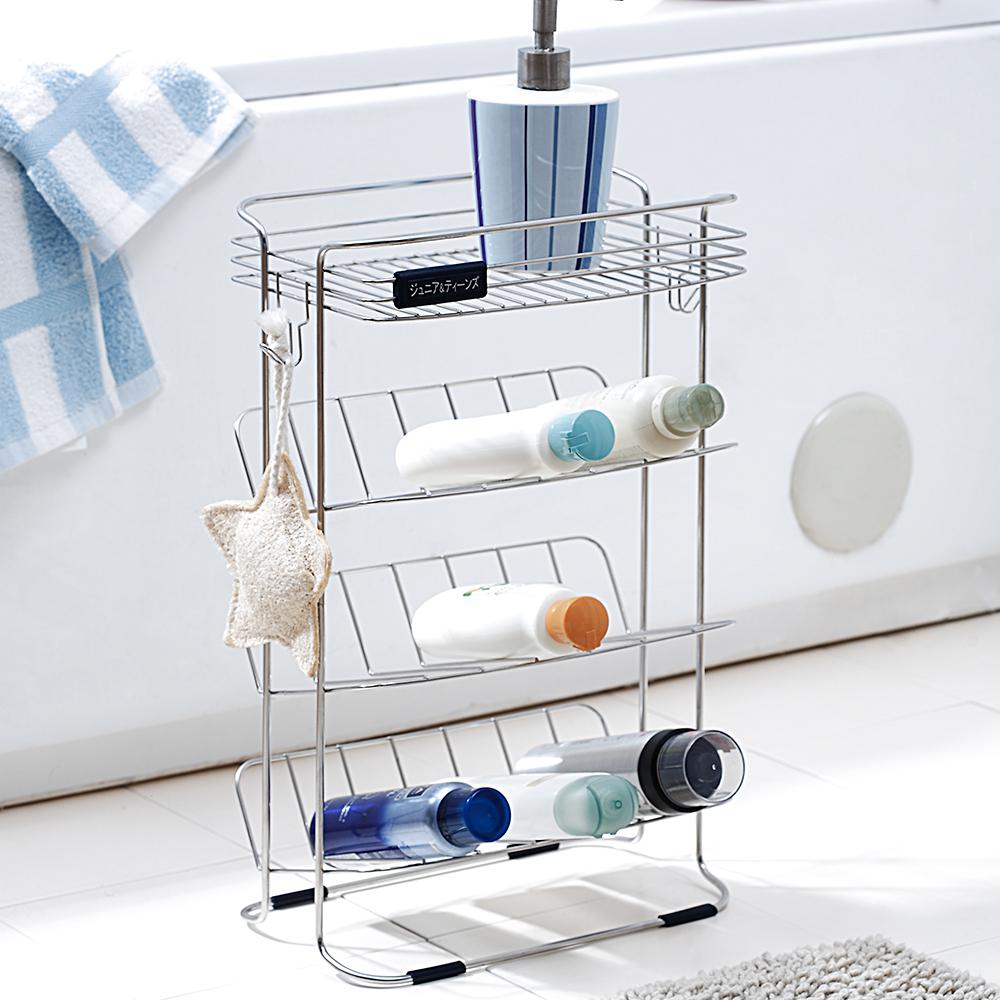置物架浴室置物架E0005不鏽鋼吊式沐浴瓶罐架MIT台灣製完美主義