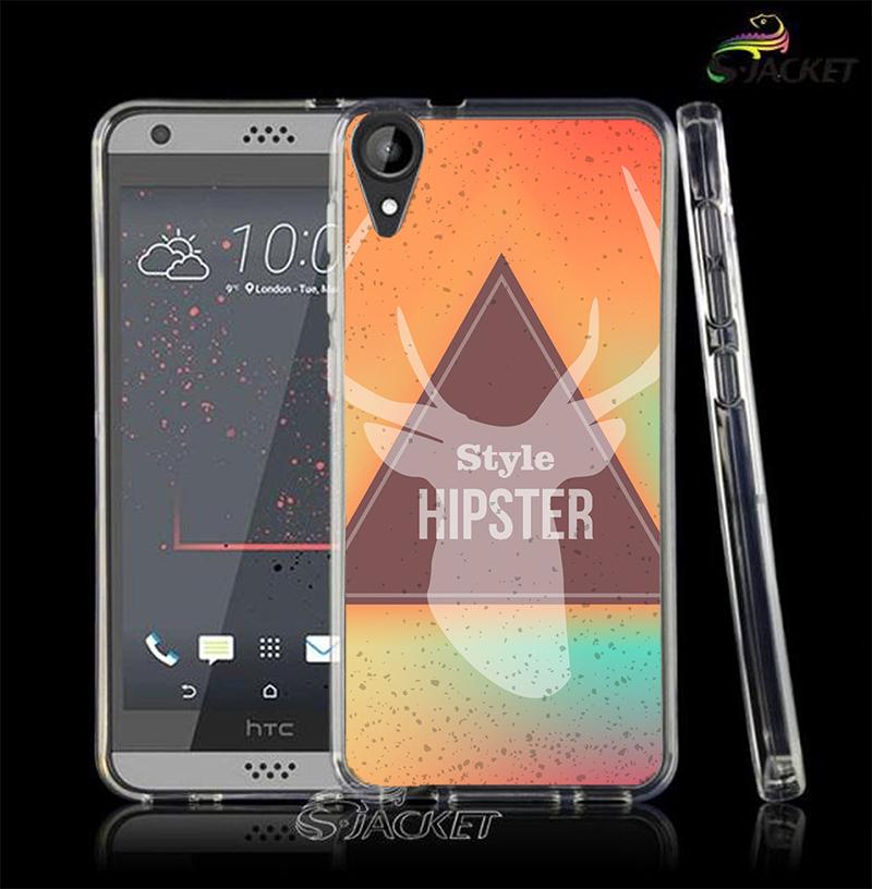 3C膜露露三角麋鹿軟殼HTC Desire 10 Lifestyle手機殼手機套保護套
