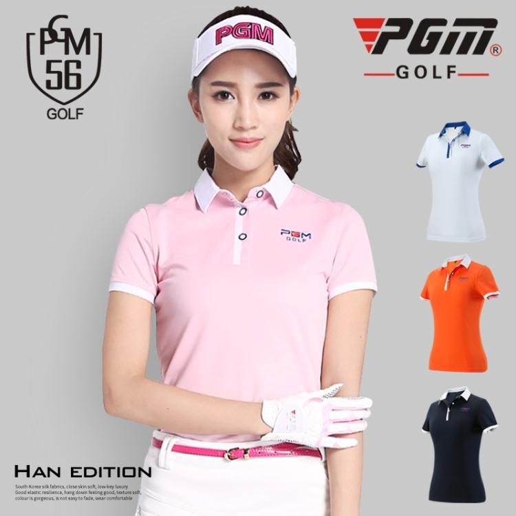 食尚玩家高爾夫服裝女士短袖T恤夏季運動球服