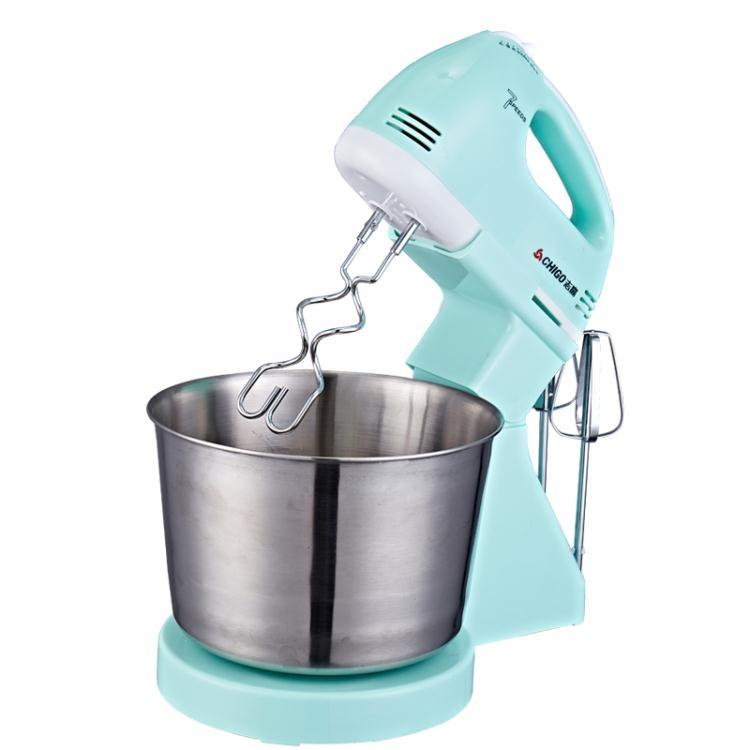 打蛋器電動家用台式全自動帶桶打奶油烘焙機ღ部落男裝ღ