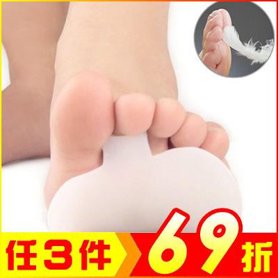 蘋果前掌墊鞋墊顏色隨機矽膠鞋墊2雙入AF02144-2 99愛買生活百貨