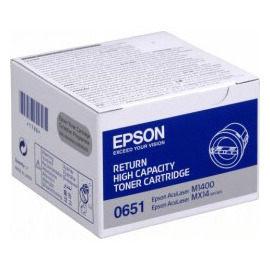 eBuy購物網EPSON原廠碳粉匣S050651黑色高容量5覆蓋率2200張適用M1400 MX14 MX14NF