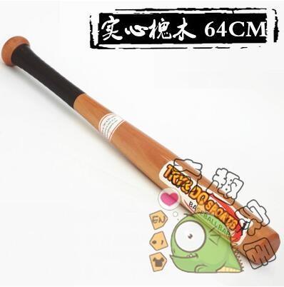 棒球壘球用品-車載防身實木棒球棒tw