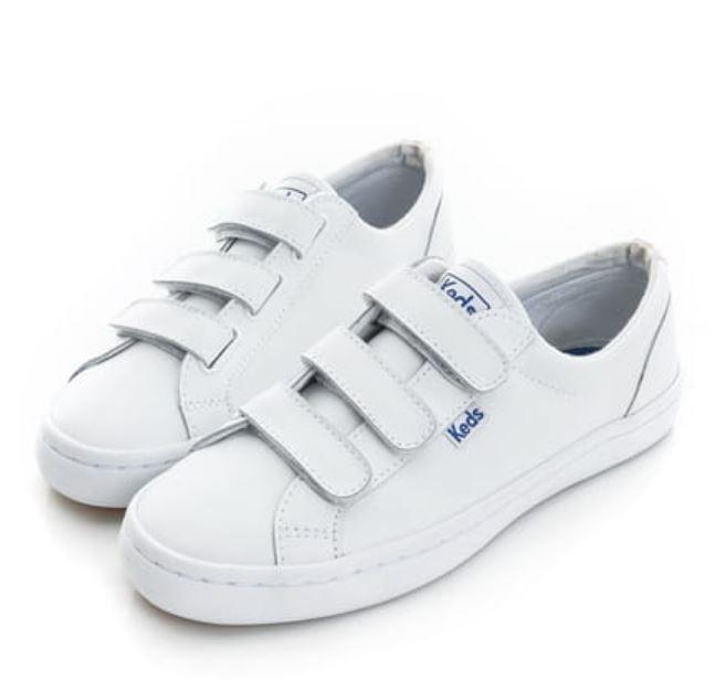 Keds TIEBREAK 女款白色魔鬼氈休閒鞋 -NO.9191W132211