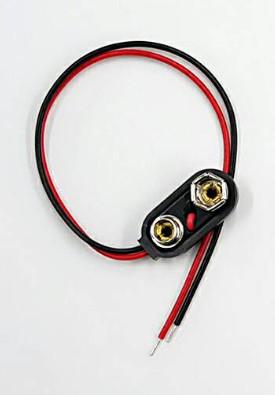 [ 中將3C ]   9V 電池扣 硬殼  線15CM    55-501H