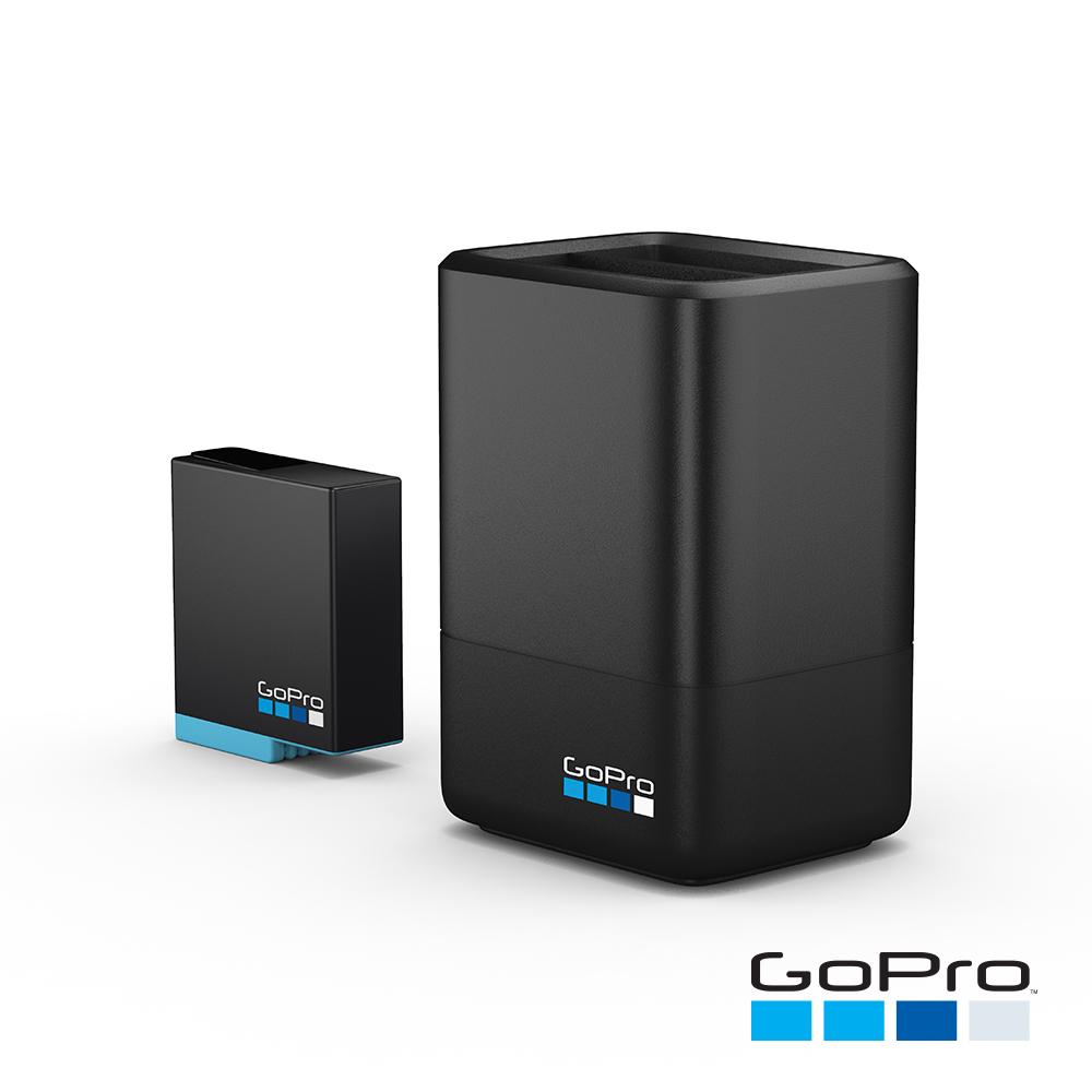 GoPro-HERO6/7/8 Black專用雙電池充電器+電池(AJDBD-001)